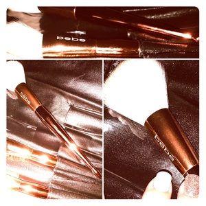 Bebe 10pc Brush Set w/ Brush Roll up case